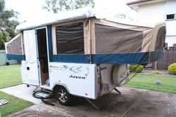 JAYCO 2010 Dove Camper, bed flys, battery pack, 6 months rego, 7000kms, excellent conditon $14,90...