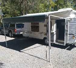 2003 17ft Olympic Caravan. Air con, new tyres & rims, full annex, elec. pump, double bed, reg...