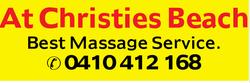 At Christies Beach Best Massage Service. 0410412168