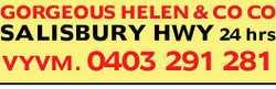 GORGEOUS HELEN & COCO   SALISBURY HWY 24 hrs   VYVM.