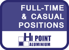 1x ALUMINIUM FABRICATOR/INSTALLER and 1x JUNIOR ASSISTANT