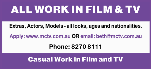 ALL WORK IN FILM & TV   Extras, Actors, Models - all looks, ages and nationalities.   ...