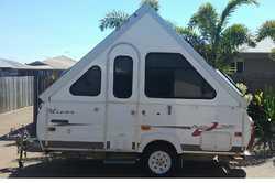 03 Avan Aliner Bush Pack 3 way fridge, m/wave, 1 x 50w solar panel, full annex + extras, RWC, reg...
