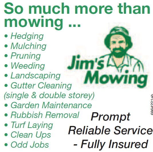 So much more than mowing ...