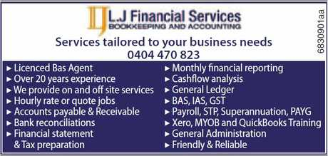 <p> Services tailored to your business needs<br /> 0404 470 823<br /> ▶<br /> Licenced...</p>