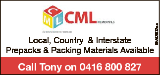Call Tonyfor our great rates0416 800 827   Local, Country & Interstate...