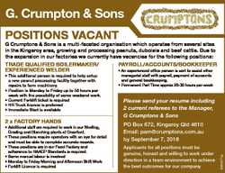G Crumptons & Sons is a multi-faceted organisation which operates from several sites in the K...
