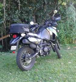 KAWASAKI Dual Sport.