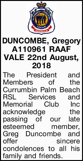 A110961 RAAF