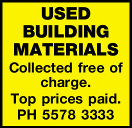 USED BUILDING MATERIALS 