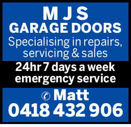 M J S GARAGE DOORS