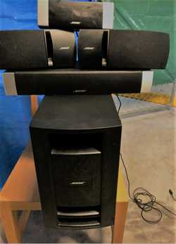 Bose theatre system