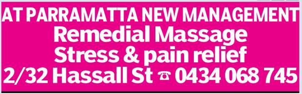 Adult Massage In Parramatta