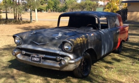 DELIVERY PROJECT CAR!!   Needs lots of work. UN REG,   NO Eng or Gear Box   Bri...