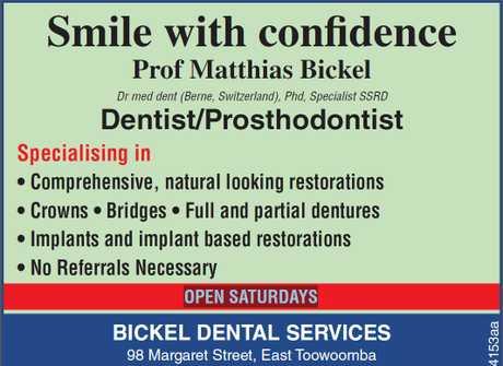 <p> Smile with confidence<br /> Prof Matthias Bickel Dr med dent (Berne, Switzerland), Phd...</p>