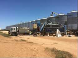 SEED GRADER  Lifestyle with massive income includes mobile seed grading machine that travels f...
