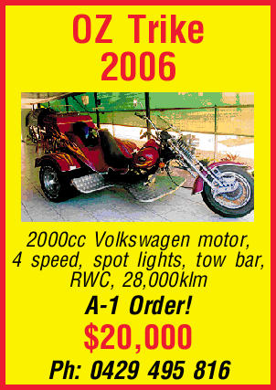 OZ Trike 2006