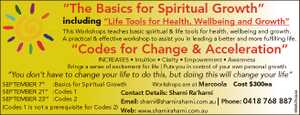 """<p> """"The Basics for Spiritual Growth"""" including """"Life Tools for Health, Wellbeing and..."""