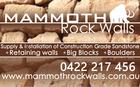 MAMMOTH ROCK WALLS