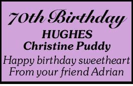 HUGHES Christine Puddy
