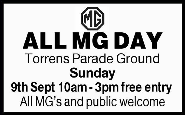 ALL MG DAY