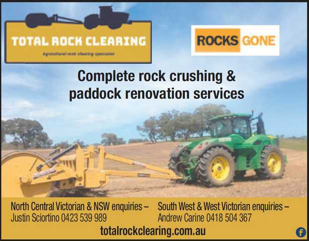 NORTH CENTRAL VICTORIA &NSW   JUSTIN 0423 539 989      SOUTH WEST & WES...
