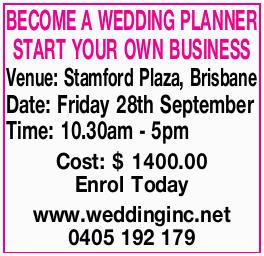 <p> Venue: Stamford Plaza, Brisbane </p> <p> Date: Friday 28th September </p> <p> Time:...</p>