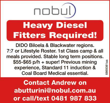 <p> <strong>Heavy Diesel Fitters Required!</strong> </p> <p>