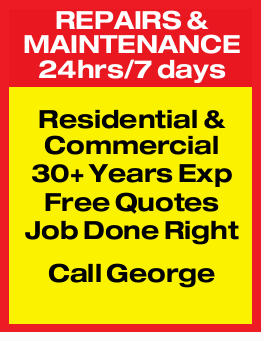 REPAIRS & MAINTENANCE   24hrs/7 days   Residential & Commercial   30+ Years E...