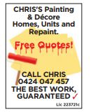 Homes, units and repaint