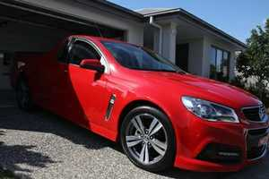 2013 Commodore Ute in immaculate condition, 70,259 kms, one owner, always garaged, full service...