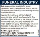 FUNERAL INDUSTRY
