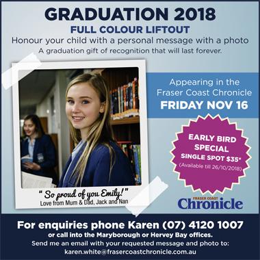 <p> <br /> Graduation 2018 Full ColourLiftout<br /> Honour your child with a personal...</p>