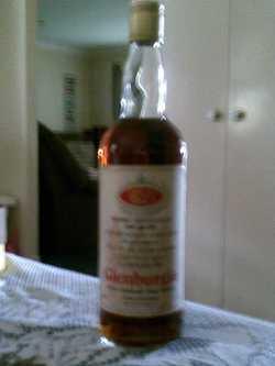 Genuine collector bottle of Glenburgie First Highland Malt Whisky - bottled in 1981 for wedding of H...