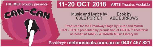 THE MET proudly presents: