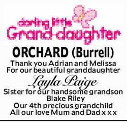 ORCHARD (Burrell)