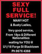 SEXY FULL SERVICE