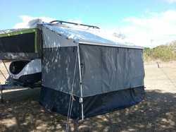 2016 Jayco Outback hawk camper, roof racks, Jtech suspension, s/steel slide out bbq, fully enclos...
