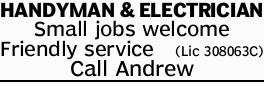 HANDYMAN & ELECTRICIAN