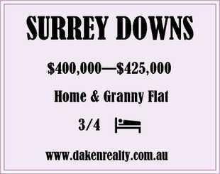 OPEN Sunday 2:00pm-3:00pm   $400,000- $425,000   StunningLarge family home, 3...