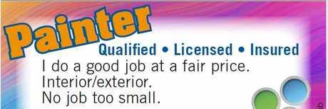 <ul> <li> Qualified</li> <li> Licensed</li> <li> Insured.</li> </ul> <p> <strong>I...</strong></p>
