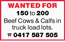 WANTED FOR