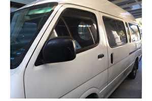 <p> 2002 Toyota Hi-Ace Commuter. </p> <ul> <li> Auto. & petrol.</li> <li> Fully...</li></ul>