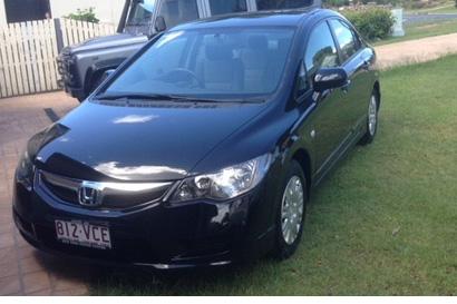 2011 Honda Civic Auto 53,000km new tyres vgc, shedded, rego, RWC, $10,500 ono. Phone 0427200112 ...