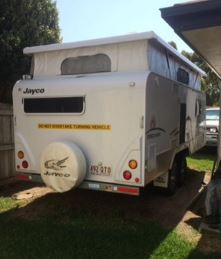 JAYCO OUTBACK DISCOVERY POPTOP 2011   Semi Off Road 17.55ft double axel fridge 185L Cooktop &...