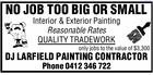 DJ LARFIELD CONTRACT PAINTERS