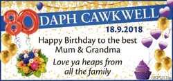 DAPH CAWKWELL
