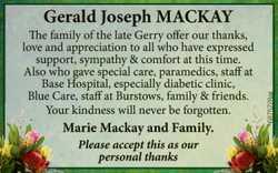 Gerald Joseph Mackay