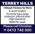 TERREY HILLS