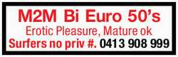 M2M Bi Euro 50's 